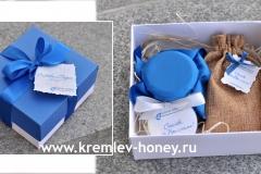 Подарочный набор Чай и мёд брендированный