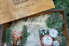 ящик для подарков с алкоголем