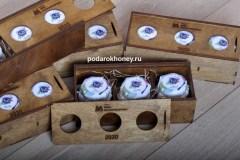 подарочный набор с 3мя видами меда