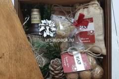 подарочный ящик на Новый год