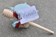 подарок на свадьбу мед с палочкой