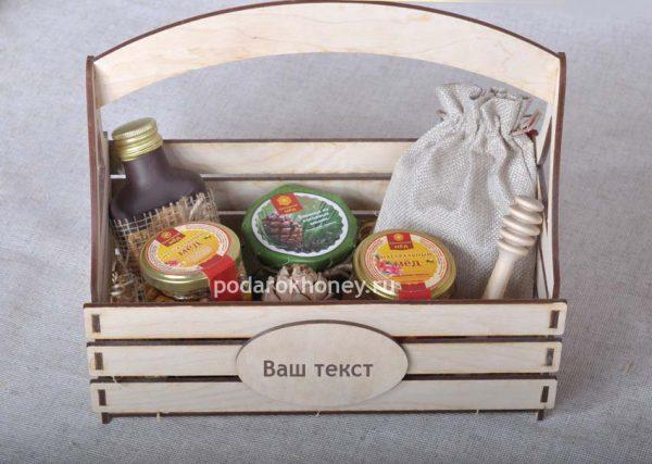 подарочный набор в ящике на юбилей