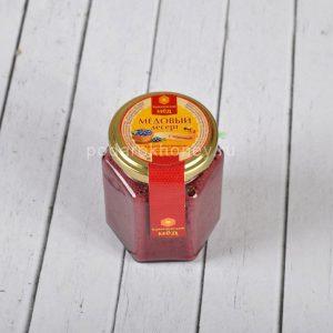 мед суфле с черникой