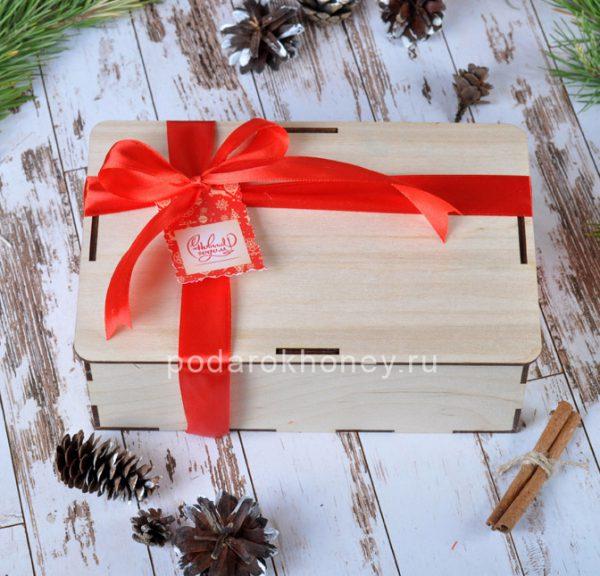 Оформление подарка на Новый год