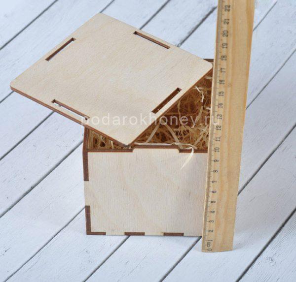 размер коробки из фанеры