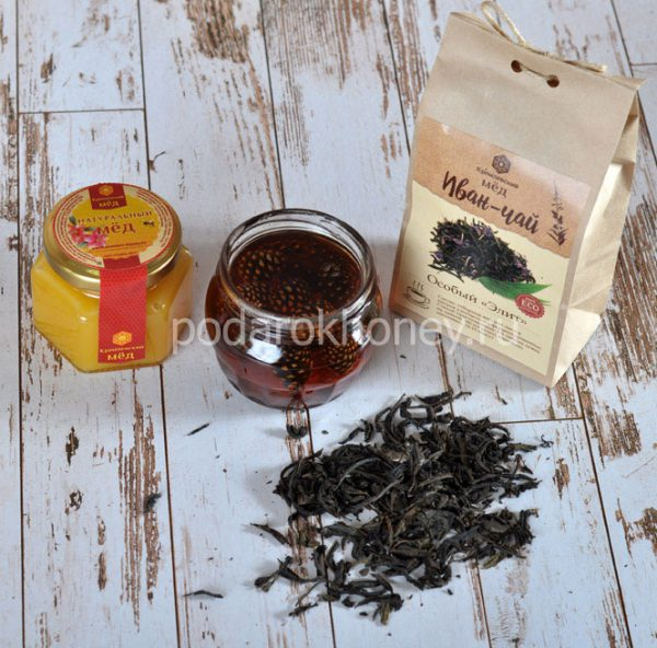 варенье и чай