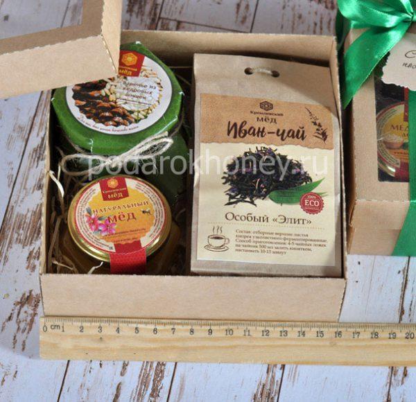 подарочный набор с вареньем и медом