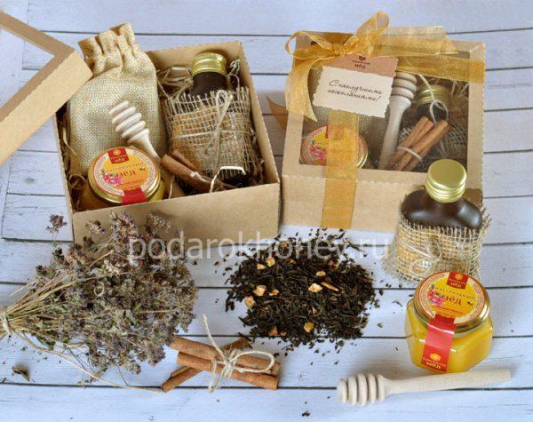 подарочный набор с медом