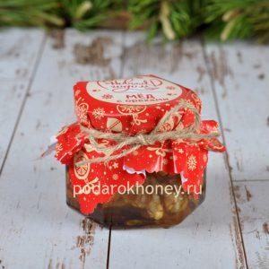 мед с орехами 125 грамм на Новый год