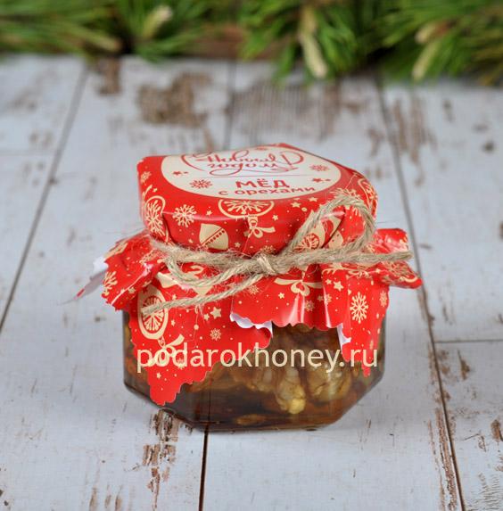 Медовый мусс с кедровым орехом на Новый год