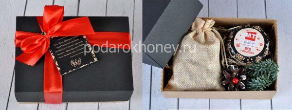 брендированный подарочный набор в дизайнерской коробке