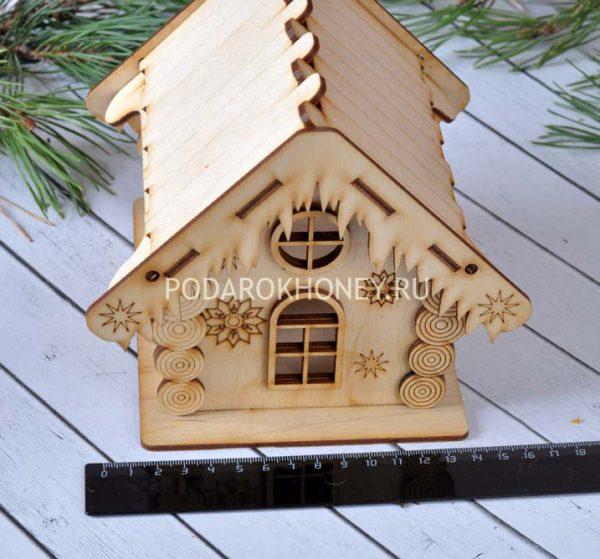 зимний домик ширина
