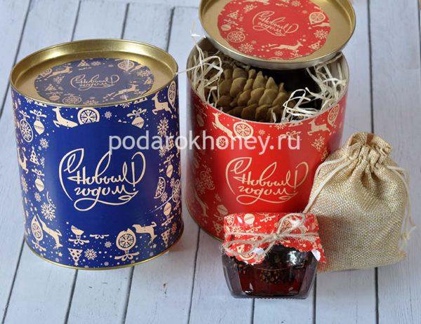 варенье и чай в подарок на Новый год