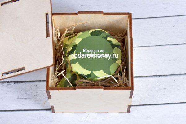 фото варенье в деревянной коробочке