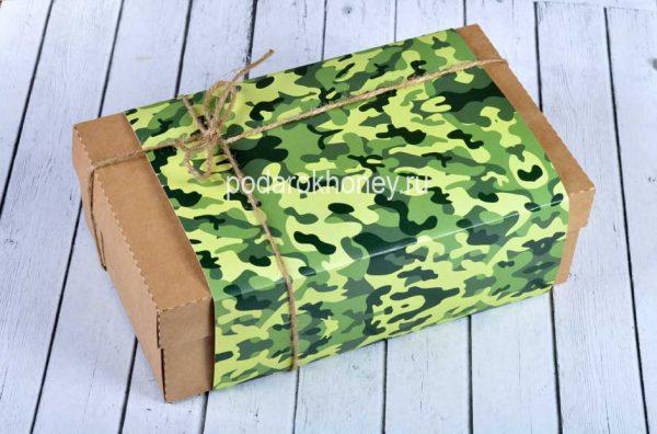 подарочный набор в крафт коробке