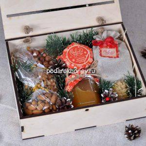 ящик с медом подарочный