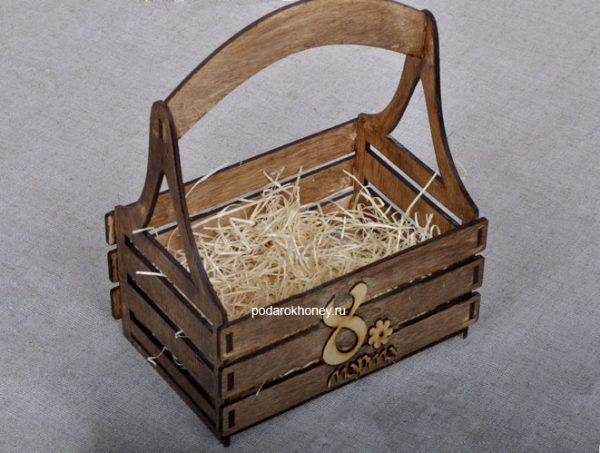 ящик для подарков на 8 марта